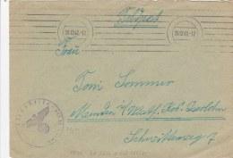 Feldpost WW2: Landesschutzen-Zug Der Luftwaffe 222/VI FP L08581 LGPA Köningsberg And Landesschutzen-Zug Der Luftwaffe 32 - Militaria