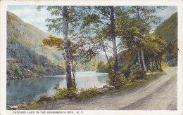 Cascade Lake In The Adirondack Mts (stamp) - NY - New York