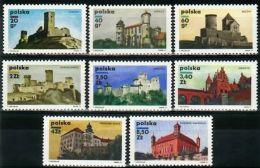 Poland 1971 - Mi#2058-65 Polish Castles - PLS109 - Castles