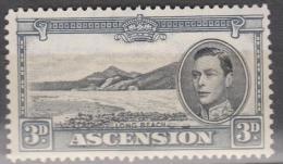 Ascension, 1938, SG 42ab, Mint Hinged (Perf: 13) - Ascension (Ile De L')
