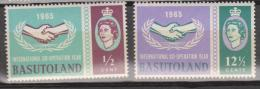 Basutoland, 1965, SG 100 - 101, MNH - Basutoland (1933-1966)