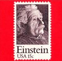 U.S. - USA - STATI UNITI - USATO - 1979 -  Albert Einstein (1879-1955) - 15 ¢ - Gebraucht