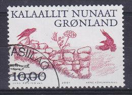 Greenland 2001 Mi. 364    10.00 Kr Arktische Wikinger (III) Die Natur Kehrt Zurück - Usati