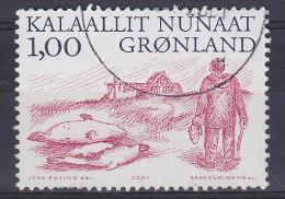 Greenland 2001 Mi. 361    1.00 Kr Arktische Wikinger (III) Fang In Den Schären - Usati