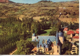 Champeix Chateau De Saint Cirgues Sur Couze Centre De Vacances CICV (ed Audin) Vue Aérienne - France