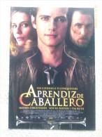 Folleto De Mano. Película Aprendiz De Caballero. Tim Roth. Hayden Christensen. Reino Unido. 2007 - Cinemania