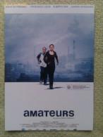 Folleto De Mano. Película Amateurs. Emilie De Preissac. Francisco Luque. España. 2006 - Non Classificati