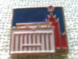 Insignia Edificio Estrella Roja. URSS. CCCP. Rusia Comunista. Años ´60-´70 - Insignias