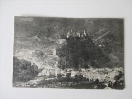 AK / Bildpostkarte Luxembourg. Vianden. Vu De La Route De Roth. Verlag J. M. Bellwald, Echternach No. 886 - Vianden