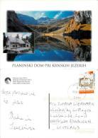 Planinski Dom, Slovenia Postcard Used Posted To UK 2012 Nice Stamp - Slovenia