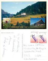 Roblekov Dom, Slovenia Postcard Used Posted To UK 2009 Nice Stamp - Slovenia