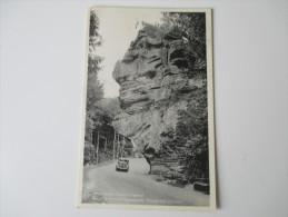 AK / Bildpostkarte Luxembourg.1950. Petite Suisse Luxembourgeoise. Route De Berdorf - Vogelsmühle, Predigtstuhl (Chaire) - Berdorf