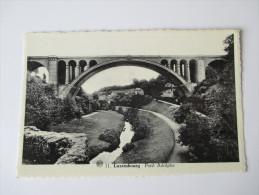 AK / Bildpostkarte Luxembourg Pont Adolphe. Phototypie A. Dohmen - Luxemburg - Stadt