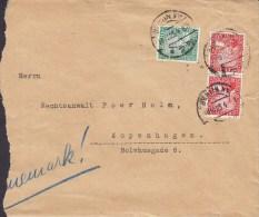 Germany NOTAR & RECHTSANWÄLTZ Apfel, Gerson & Beck BERLIN NW 1925 Cover Brief To Denmark (2 Scans) - Deutschland