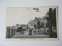 AK / Bildpostkarte Luxembourg Table D'orientation Et Corniche - Luxemburg - Stadt