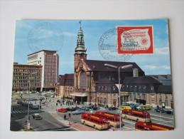 AK / Bildpostkarte Luxembourg Gare Centrale Et Batiment Du C.F.L. 1965 - Luxemburg - Stadt