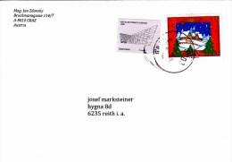 Brief Von 8006 Graz Postpartner Mit 55 Cent Frohe Weihnachten + 7 Cent  2014 - 1945-.... 2. Republik