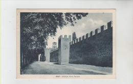 Rieti -antiche Mura Merlate - Rieti