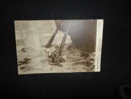 Carte Photo ( 1900 - 1910 ) Tableau De  Scott. Dernière Vision. - Peintures & Tableaux