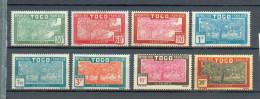 Togo 377 - YT 144 à 151 * - Neufs
