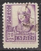 España U 0821 (o) Isabel. 1937 - 1931-Today: 2nd Rep - ... Juan Carlos I