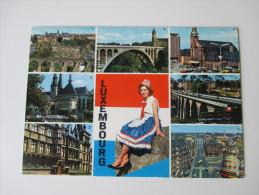 AK / Bildpostkarte Luxembourg 1968 Mehrbildkarte - Luxemburg - Stadt