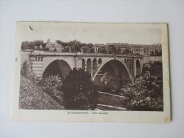 AK / Bildpostkarte Luxembourg 1925 Pont Adolphe. - Luxemburg - Stadt
