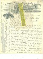 25 - Doubs - MOUTHEROT Et VUILLAFANS - Facture DEMOLOMBE - Plants De Vignes Et Boutures - Vins - 1906 - REF 6 - 1900 – 1949