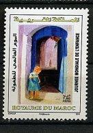 Maroc ** N°1468 - Journée Mondiale De L´Enfance - Maroc (1956-...)