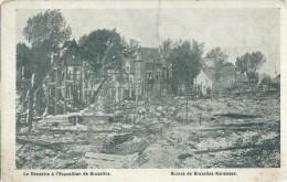 BRUXELLES - Exposition De 1910 : Incendie : Les Ruines De Bruxelles Kermesse - Expositions Universelles