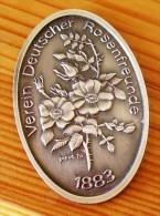 Medaille Verein Deutscher Rosenfreunde 1883,PICOT 76 - B. Plantes Fleuries & Fleurs