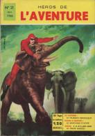HEROS DE L AVENTURE N° 21 BE REMPARTS 02-1966 RARE - Flash
