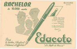 "Buvard Ancien ""Edacoto""le Stylo De France - Buvards, Protège-cahiers Illustrés"