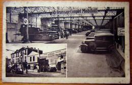 Cpa PARIS XIV Grand Garage Gaulois, THENAULT Et Cie - 200, 202 Rue D´ Alésia - Paris (14)
