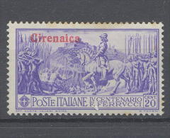 Cirenaica Ferrucci Cent. 20 - Cirenaica