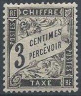 FRANCE - 3 C. Duval Noir Neuf - 1859-1955.. Ungebraucht
