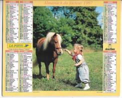 CALENDRIER - ALMANACH DES POSTES ET DES TELEGRAPHES - ANNEE 1997 - Département De SEINE ET MARNE - Big : 1991-00