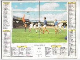 CALENDRIER - ALMANACH DES POSTES ET DES TELEGRAPHES - ANNEE 1970 - Département De L'AUDE - Big : 1961-70