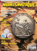 COLLECTION CATALOGUE EDITION NUMISMATIQUE ET CHANGE 2001 N° 316 NAISSANCE A PARIS DU PAPIER MONNAIE FRANCAIS LA 5 FRANCS - Français