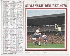 CALENDRIER - ALMANACH DES POSTES ET DES TELEGRAPHES - ANNEE 1976 - REGION PARISIENNE - Calendriers