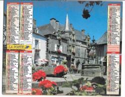 CALENDRIER - ALMANACH DES POSTES ET DES TELEGRAPHES - ANNEE 1993 - DEPARTEMENT DE SEINE ET MARNE - Big : 1991-00