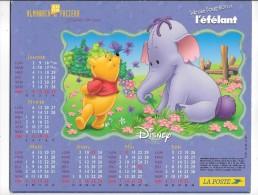 CALENDRIER - ALMANACH DES POSTES ET DES TELEGRAPHES - ANNEE 2006 - DISNEY - WINNIE - DEPARTEMENT DE SEINE ET MARNE - Calendars