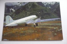DC 3    MOUNT COOK AND SOUTHERN LAKES TOURIST   ZK AOD - 1946-....: Modern Era