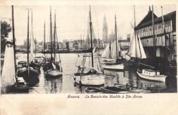 BELGIQUE - ANVERS - ANTWERPEN - Le Bassin Des Yachts à Ste-Anne. - Antwerpen