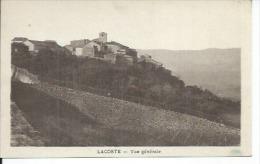 LACOSTE - VUE GENERALE - France