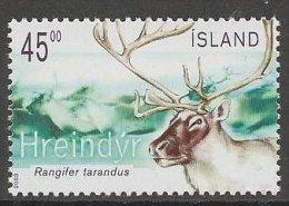 Iceland 2003 MNH/**/postfris/postfrisch Michelnr. 1045 - 1944-... Republik