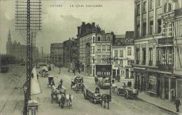 Antwerpen, Jordaenskaai, Paardenkarren, Loodswezen Op De Achtergrond - Antwerpen