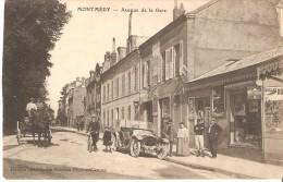 Montmédy - Avenue De La Gare - Feldpost N° 91 De 1916 - Montmedy
