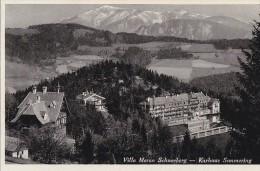 Autriche - Semmering / Villa Meran Schneeberg / Postal Mark 1936 - Semmering