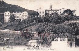 Erbalunga ( Cap Corse ) LE COUVENT - CORSE -  Collection Luxe  J. Moretti N°55 - écrite 1915 - 2 Scans - Autres Communes